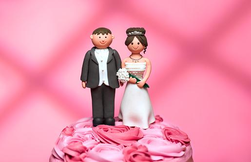 Married「bride and groom wedding figurines」:スマホ壁紙(18)