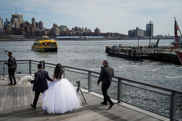 結婚「Mayor Bill De Blasio Announces Plan To Protect Lower Manhattan From Storms And Rising Seas」:写真・画像(13)[壁紙.com]