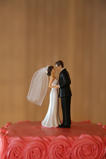 Decoration「Bride and groom figurine cake topper」:スマホ壁紙(15)