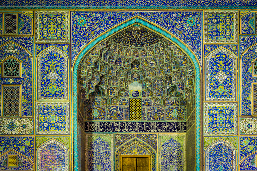 Iranian Culture「Entrance portal of Sheikh Lotfollah Mosque」:スマホ壁紙(4)