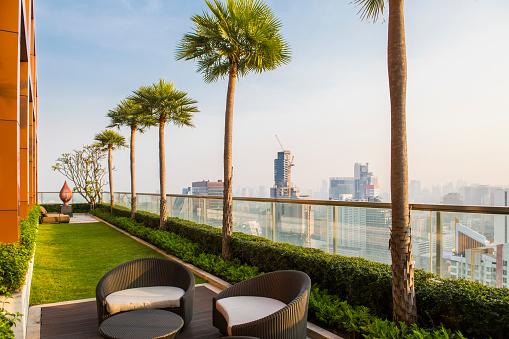 Rooftop「Rooftop garden, Sathorn, Bangkok, Thailand」:スマホ壁紙(14)