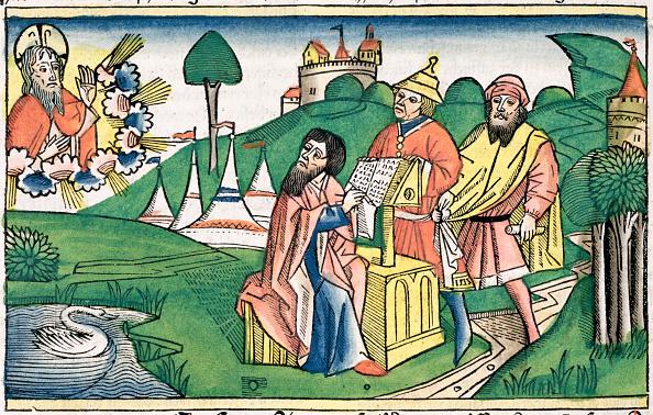 Circa 15th Century「God Making The Laws」:写真・画像(15)[壁紙.com]