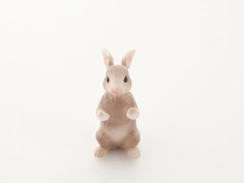 うさぎ「A toy rabbit.」:スマホ壁紙(2)