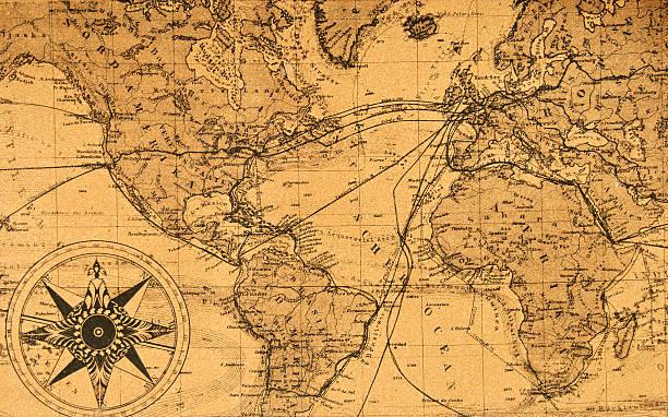 old map of the world:スマホ壁紙(壁紙.com)