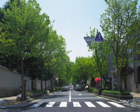 Urban Road「Street of Kitanosaka, Kobe, Japan」:スマホ壁紙(2)