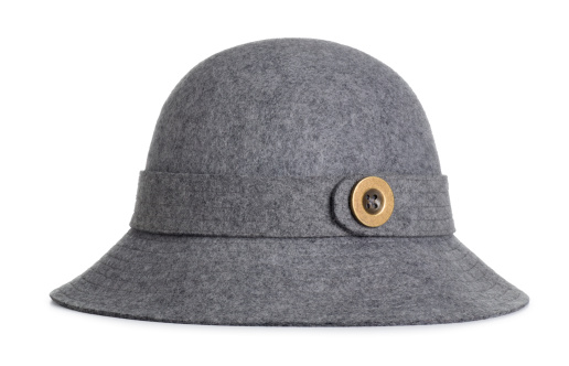 Females「Antique Ladies Grey Felt Hat」:スマホ壁紙(1)