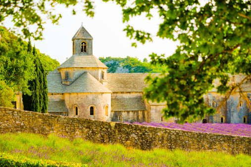French Lavender「Abbey of Senanque, Provence, France」:スマホ壁紙(19)