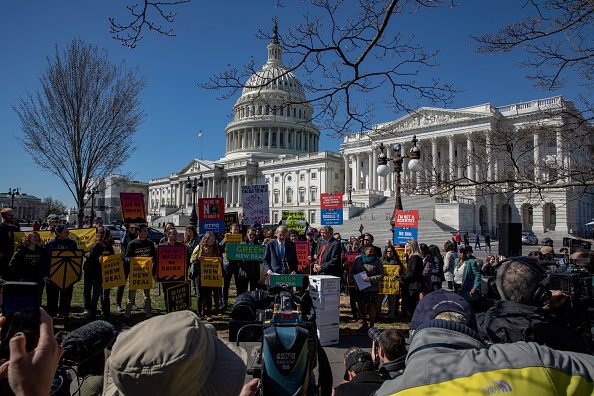 Washington DC「Democrat Lawmakers Hold Press Conference Calling For Climate Change Action In Congress」:写真・画像(7)[壁紙.com]