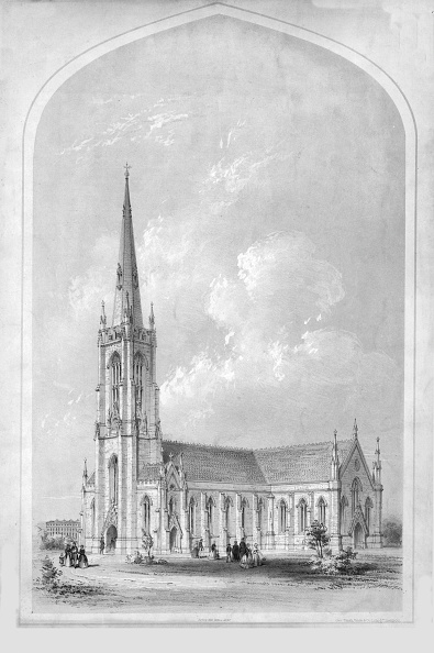 Gothic Style「St Pauls Church Princes Park」:写真・画像(10)[壁紙.com]