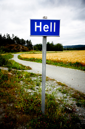 Hell「Hell Road Sign」:スマホ壁紙(13)