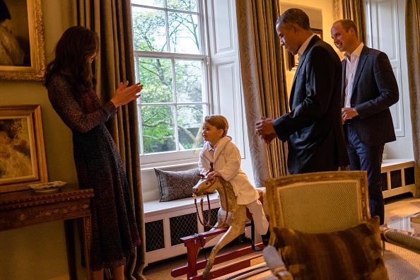 Kensington Palace「The Obamas Dine At Kensington Palace」:写真・画像(6)[壁紙.com]