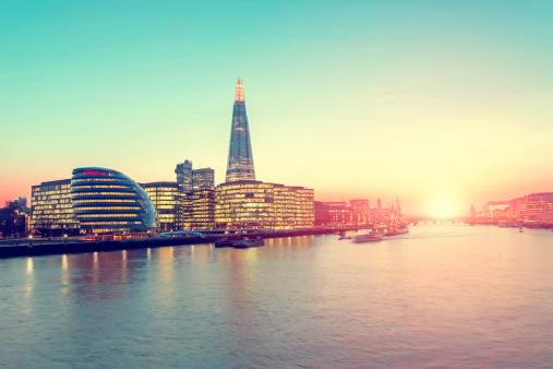 London Bridge - England「More London District」:スマホ壁紙(9)