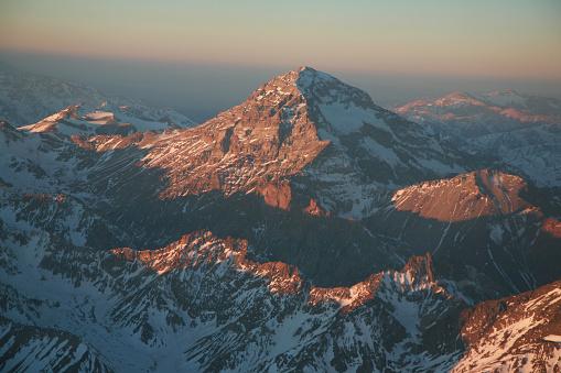 Mount Aconcagua「アンデスのアコンカグア山」:スマホ壁紙(0)