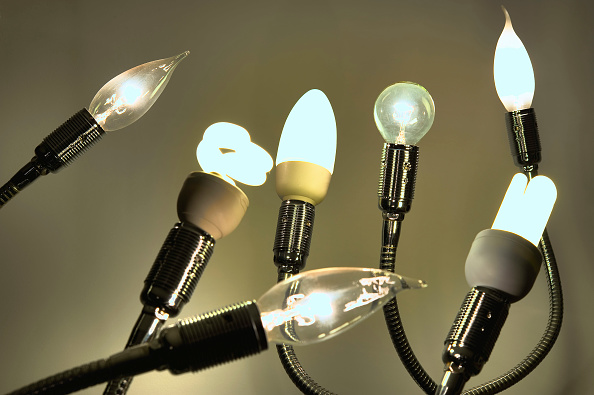 Efficiency「Lightbulbs and Energy Saving Lamps」:写真・画像(12)[壁紙.com]