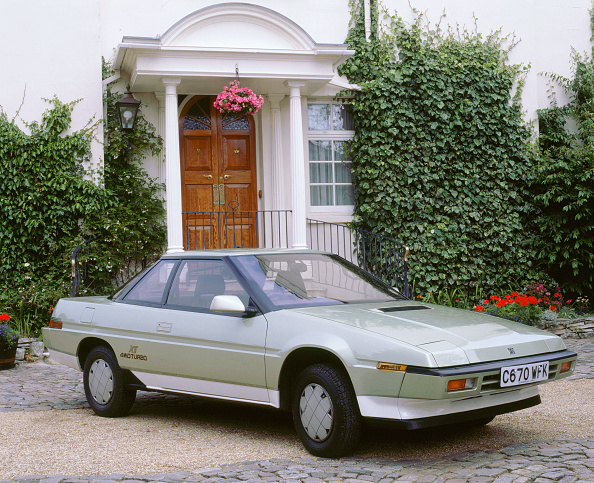 Ugliness「1986 Subaru XT 4WD Turbo」:写真・画像(7)[壁紙.com]
