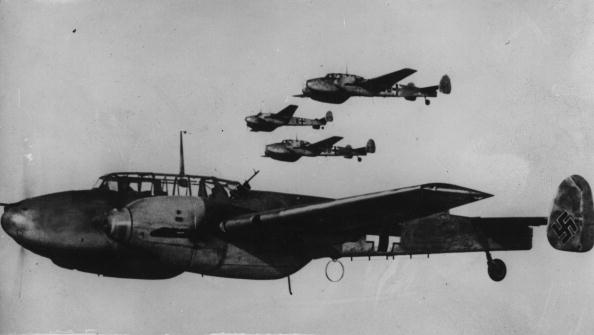 Air Vehicle「Messerschmitt Bf 110」:写真・画像(1)[壁紙.com]