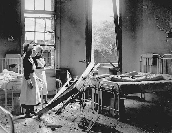 Damaged「Bombed Hospital」:写真・画像(2)[壁紙.com]