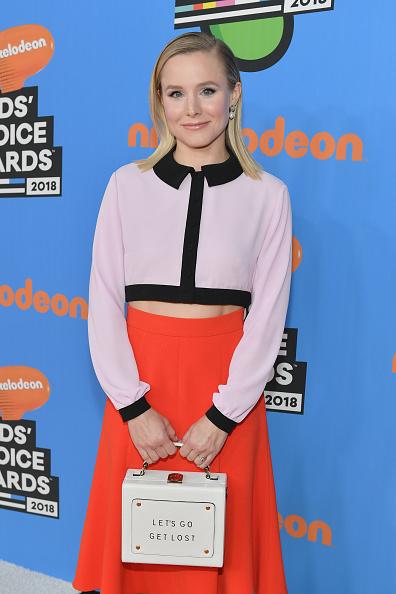Kristen Bell「Nickelodeon's 2018 Kids' Choice Awards - Red Carpet」:写真・画像(15)[壁紙.com]