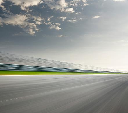 Motor Racing Track「Race track back straight」:スマホ壁紙(0)