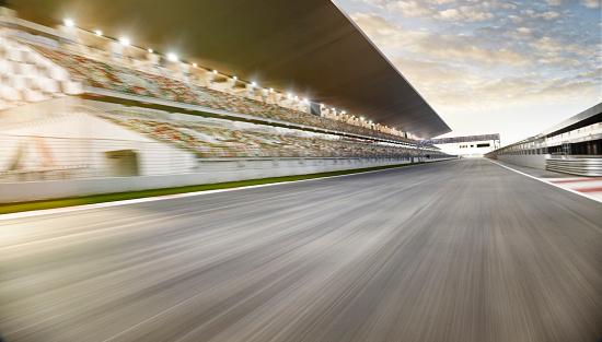 Motion「Race track starting line」:スマホ壁紙(3)