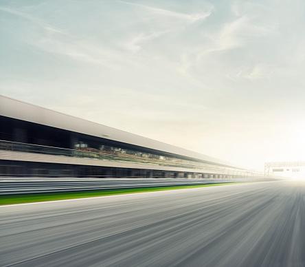 Motor Racing Track「Race track start」:スマホ壁紙(5)