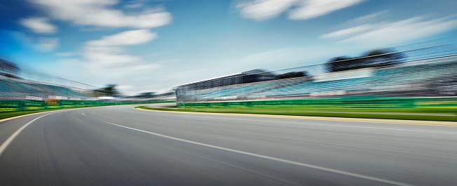 Blurred Motion「Race Track」:スマホ壁紙(18)