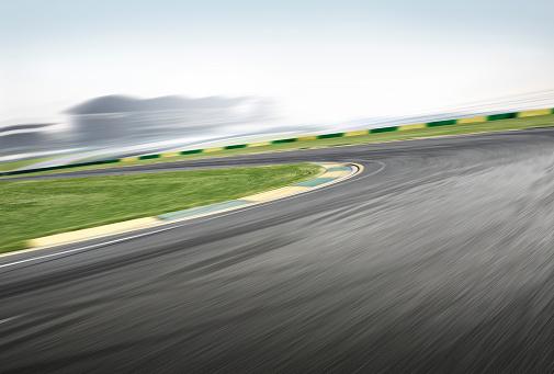Motor Racing Track「Race track corner」:スマホ壁紙(5)