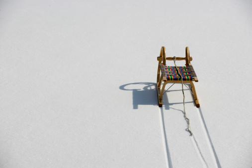Sled「sledge in the snow」:スマホ壁紙(0)