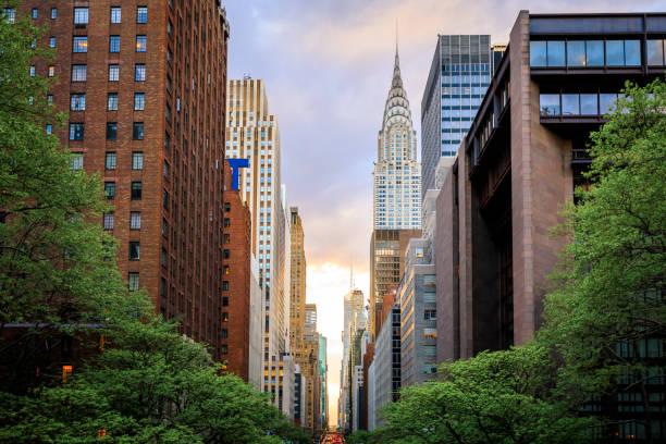 Look Down 42nd Street, Manhattan:スマホ壁紙(壁紙.com)