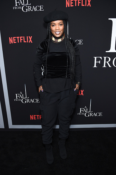 "Beret「Tyler Perry's ""A Fall From Grace"" New York Premiere」:写真・画像(0)[壁紙.com]"