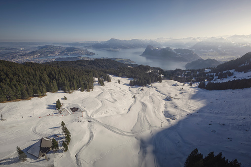 スノーボード「Ski slopes, Mount Pilatus, Lucerne, Switzerland」:スマホ壁紙(11)