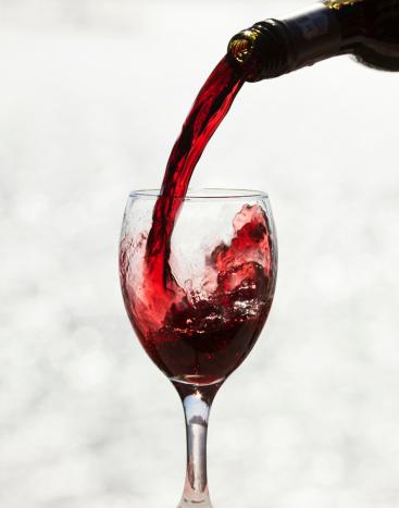 Wine Bottle「Red wine」:スマホ壁紙(8)