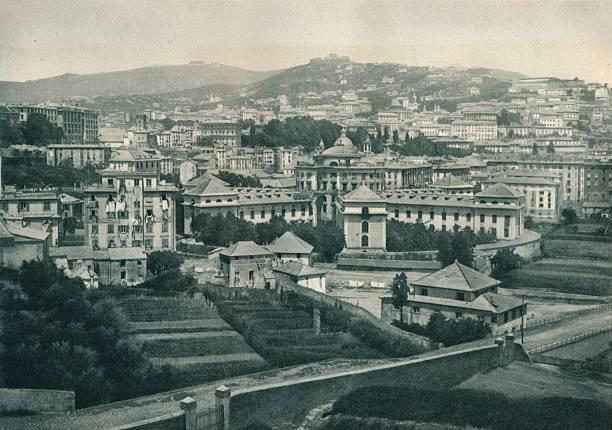 View of Genoa, Italy:ニュース(壁紙.com)