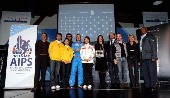 Evgeni Plushenko「Laureus-AIPS Media Event Vancouver 2010」:写真・画像(6)[壁紙.com]