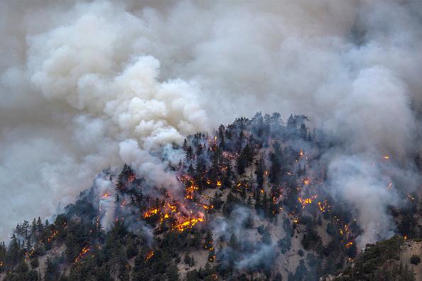 Weather「Bobcat Fire Burns East Of Los Angeles」:写真・画像(1)[壁紙.com]