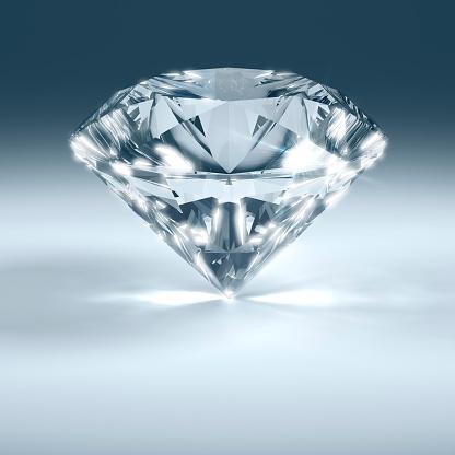 結晶「ダイヤモンドの輝き」:スマホ壁紙(1)