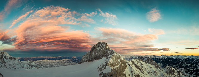 Dachstein Mountains「Austria, Salzkammergut, Koppenkarstein at sunset」:スマホ壁紙(17)