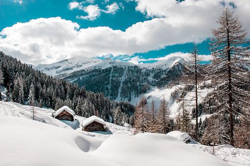スキー場「Austria, Salzburg State, Altenmarkt-Zauchensee, ski area」:スマホ壁紙(17)