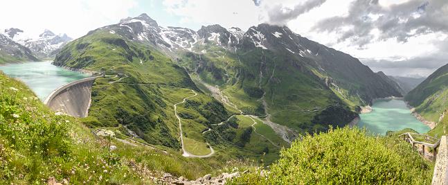 Tyrol State - Austria「Austria, Salzburg State,Zell am See District, Mooserboden with the lake Wasserfallboden」:スマホ壁紙(18)
