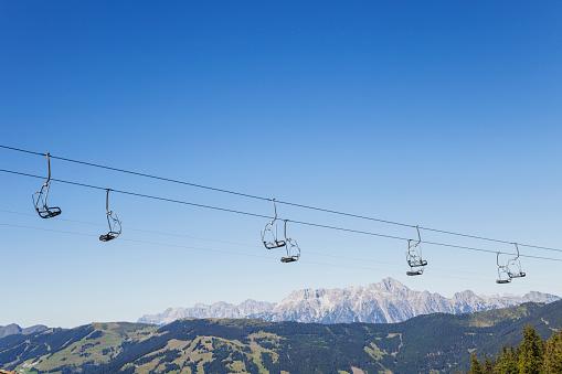 Aerial tramway「Austria, Salzburg State, mountain panorama from Schmittenhoehe」:スマホ壁紙(10)