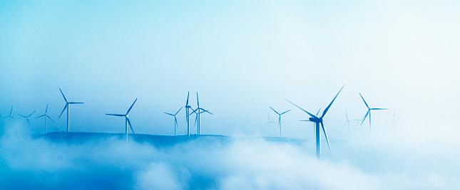 Wind Turbine「Power Generating Windmills」:スマホ壁紙(8)