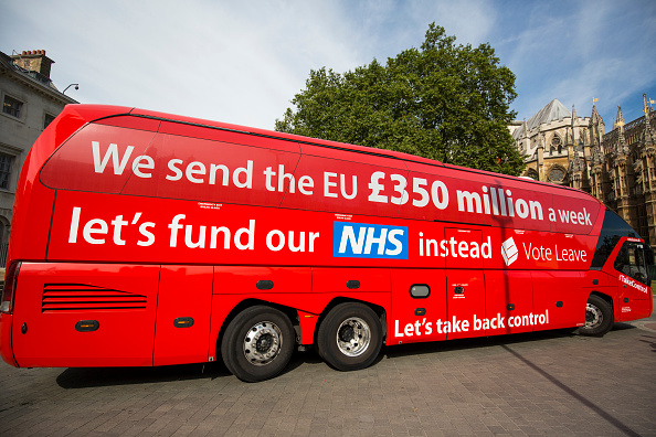 Bus「Greenpeace Re-brands Boris Johnson's Brexit Battlebus」:写真・画像(12)[壁紙.com]