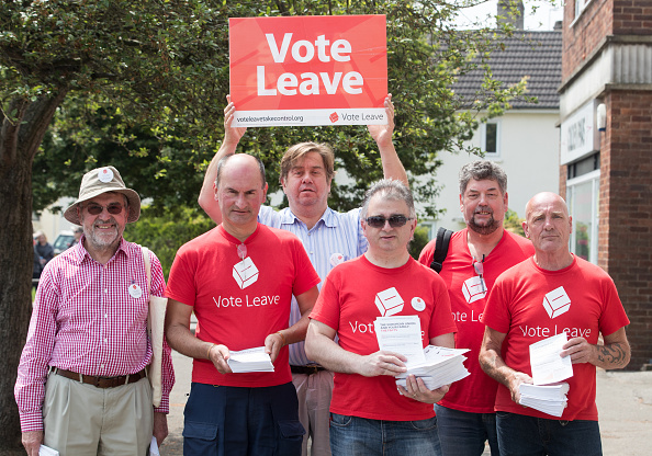 Vote Leave Campaign「Vote Leave Supporters Campaign In Stonehouse」:写真・画像(19)[壁紙.com]