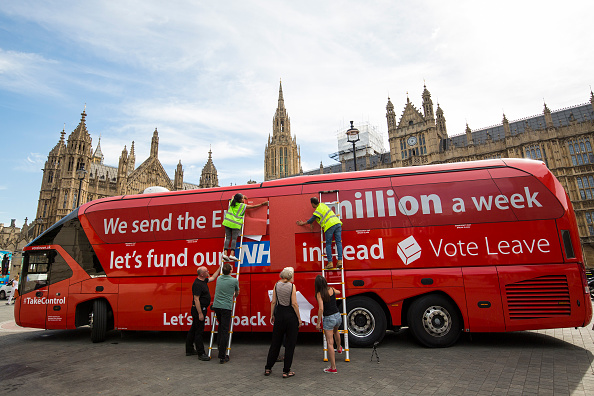 Bus「Greenpeace Re-brands Boris Johnson's Brexit Battlebus」:写真・画像(16)[壁紙.com]