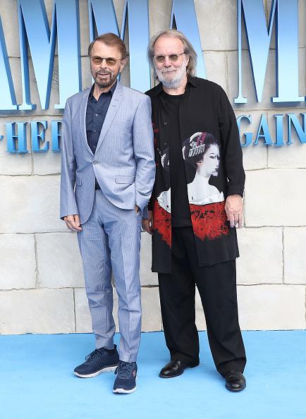 """Bjorn Ulvaeus「""""Mamma Mia! Here We Go Again"""" - UK Premiere - Red Carpet Arrivals」:写真・画像(9)[壁紙.com]"""