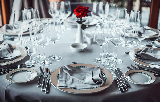 Napkin「Table set for an event party」:スマホ壁紙(1)