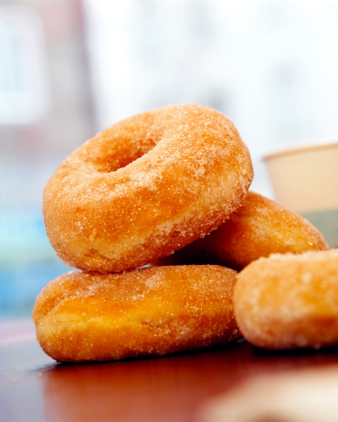 ドーナツ「'Donuts, close-up'」:スマホ壁紙(15)