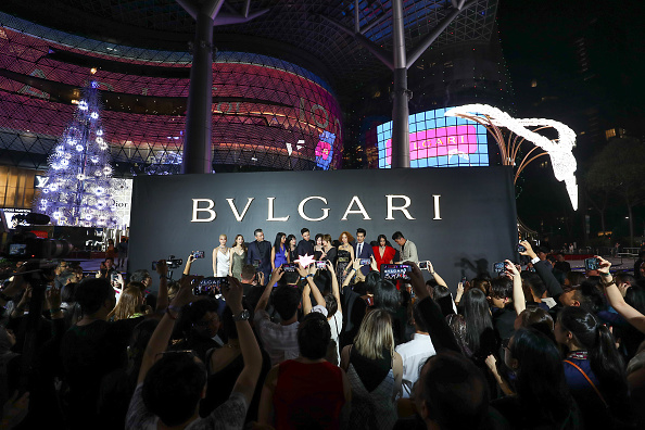 Lee Min「Bvlgari's Serpenti Light-Up In Singapore」:写真・画像(1)[壁紙.com]