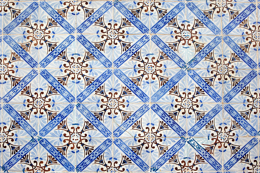 Tradition「Portugal, Azulejos, close-up」:スマホ壁紙(12)