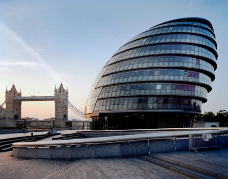 London Bridge - England「City Hall & Tower Bridge, London, UK.」:スマホ壁紙(2)